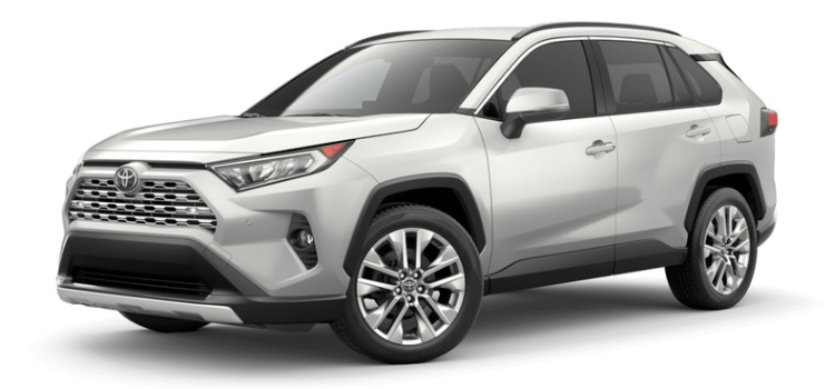 2019 Toyota Rav4 Interior And Exterior Color Options