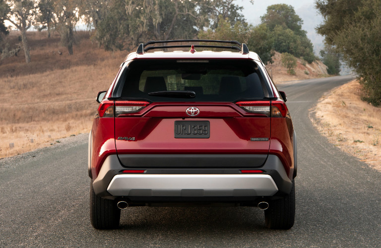 2019 Toyota RAV4 rear liftgate