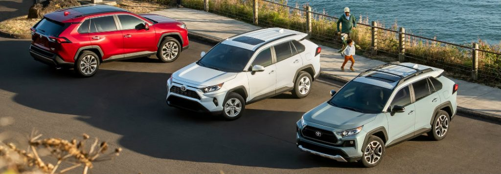 Toyota Sequoia Lease >> 2019 Toyota RAV4 Interior and Exterior Color Options