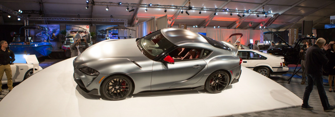 Custom 2020 Toyota Supra at Barrett-Jackson auction