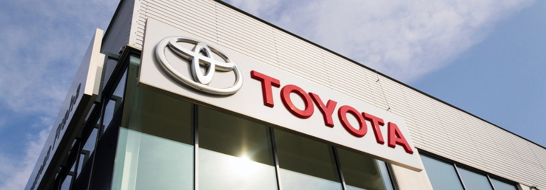 Toyota Building Sign