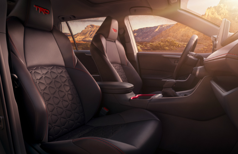 2020 Toyota RAV4 TRD Off-Road front seats