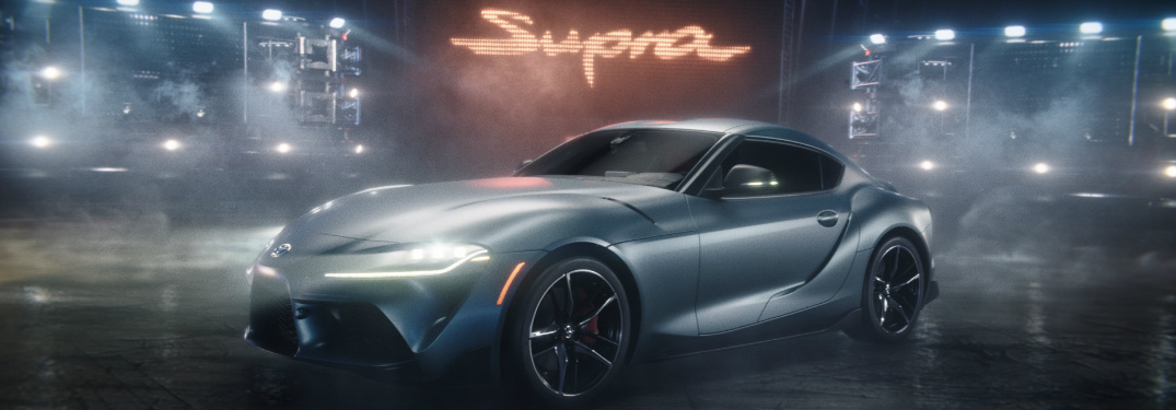2020 Toyota Supra still from Wizard Super Bowl LIII commercial