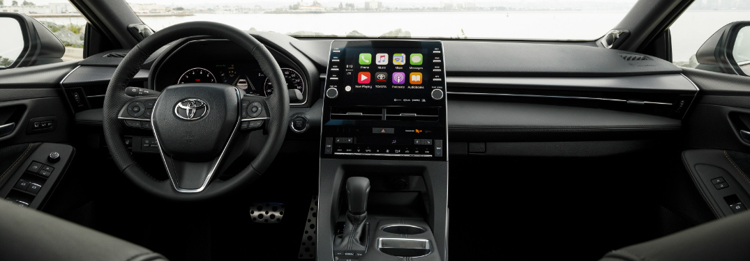 2019 Toyota Avalon dashboard