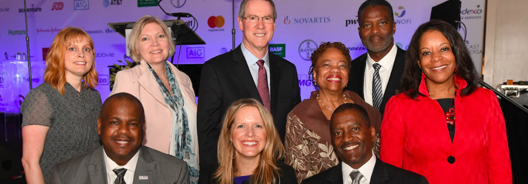 Toyota employees at 2019 Diversity Inc reception