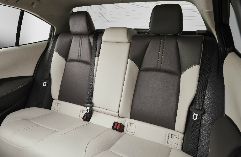 2020 Toyota Corolla rear seats