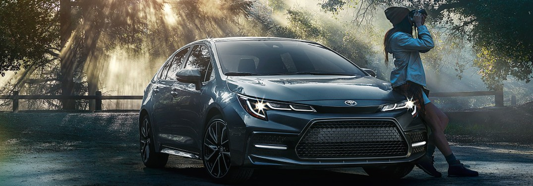 What safety features do you get on the 2020 Corolla?