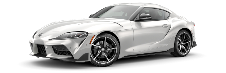 2020 Toyota GR Supra Absolute Zero Gray side view