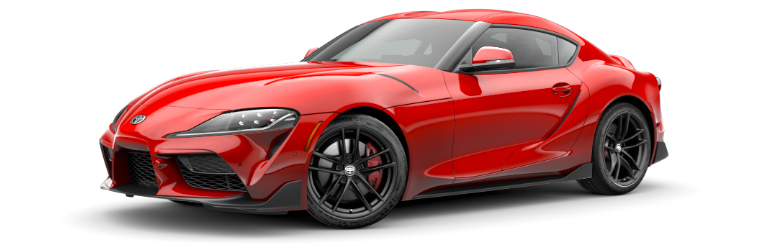 2020 Toyota GR Supra Launch Edition Renaissance Red side view