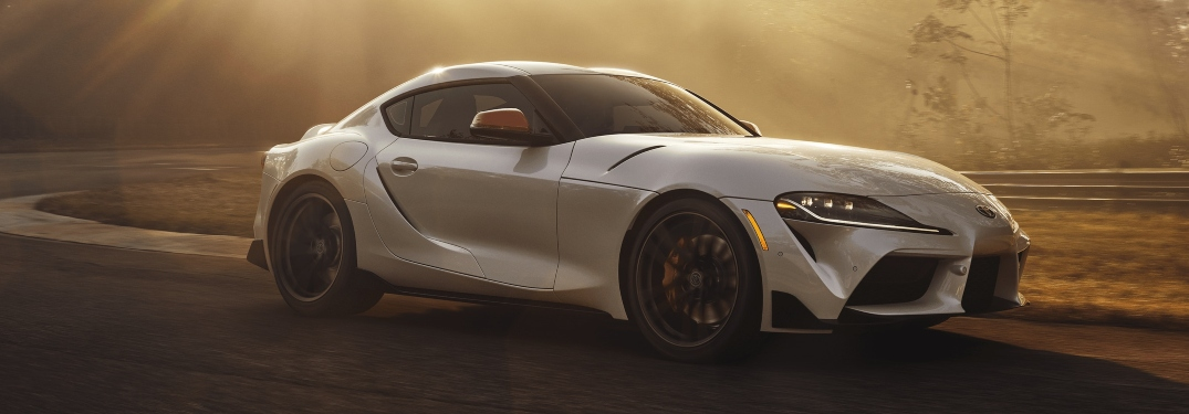 2020 Toyota GR Supra Launch Edition white side view