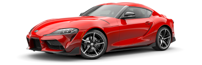 2020 Toyota GR Supra Renaissance Red side view