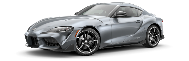 2020 Toyota GR Supra Turbulence Gray side view