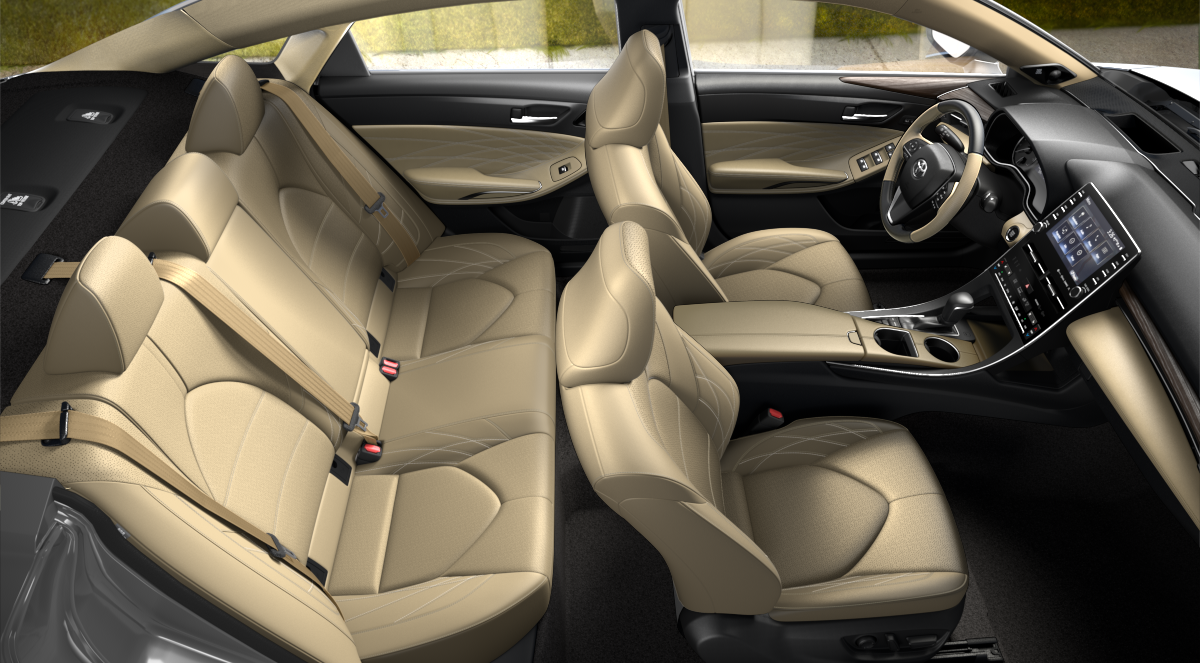 2020 Toyota Avalon Beige Leather Interior Color Option