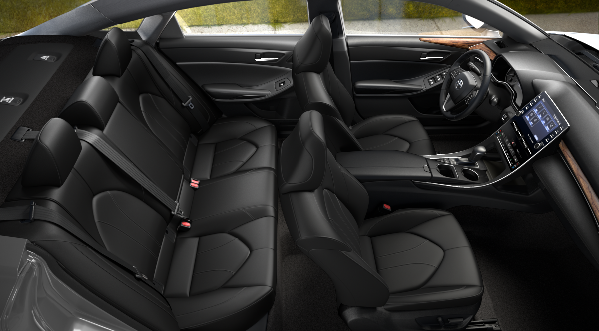 2020 Toyota Avalon Black SofTex Interior Color Option