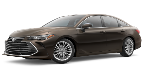2020 Toyota Avalon Brownstone Exterior Color Option