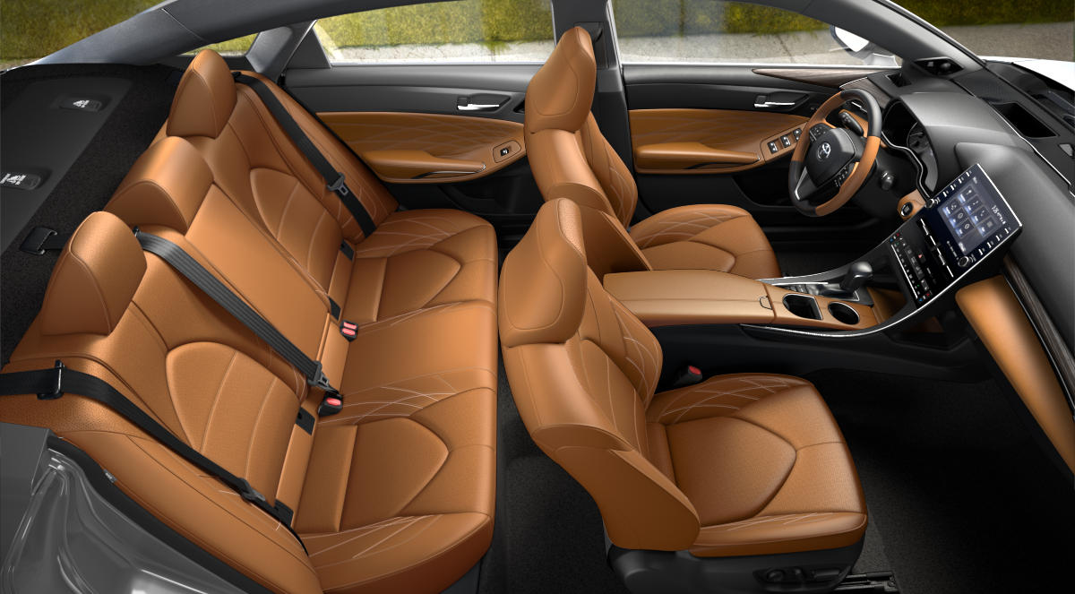 2020 Toyota Avalon Cognac Leather Interior Color Option