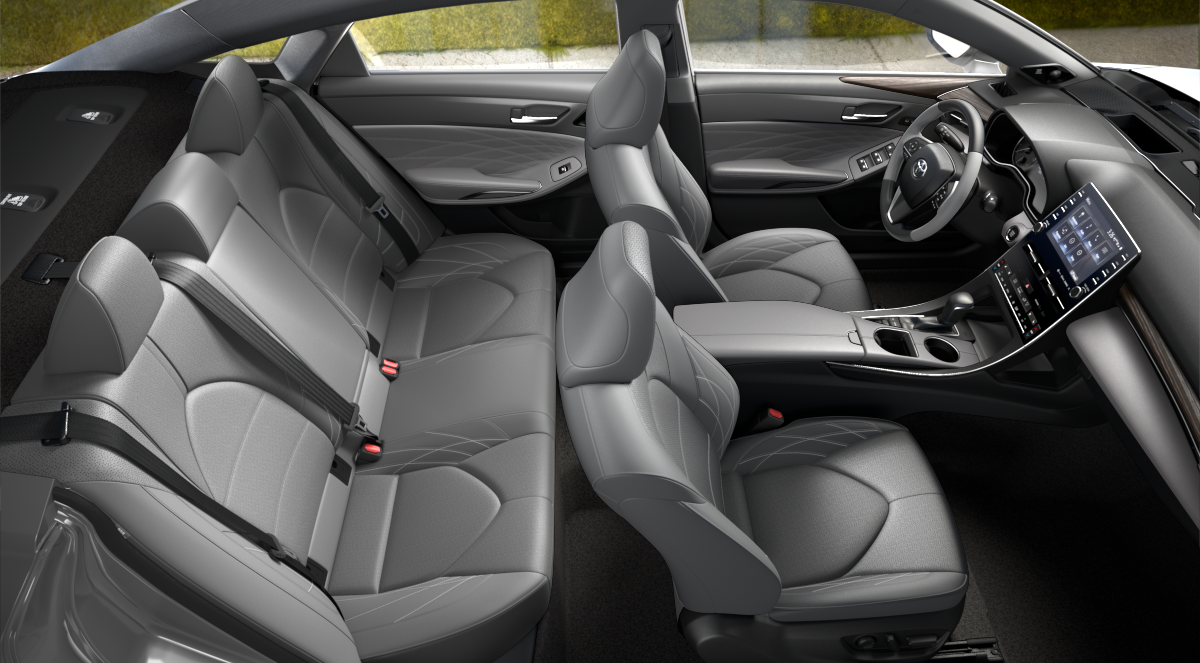 2020 Toyota Avalon Gray Leather Interior Color Option