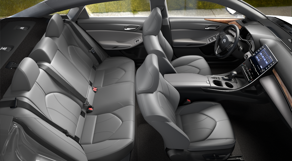 2020 Toyota Avalon Gray SofTex Interior Color Option