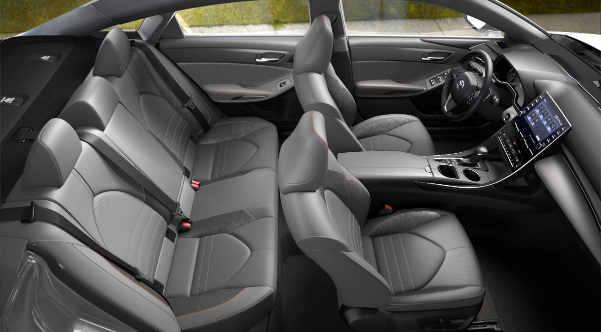 2020 Toyota Avalon Gray SofTex + Ultrasuede Interior Color Option