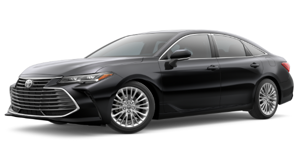 2020 Toyota Avalon Midnight Black Metallic Exterior Color Option