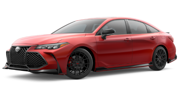 2020 Toyota Avalon Super Sonic Red Exterior Color Option