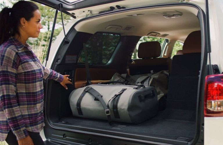 How Much Interior Cargo Space Does The 2020 Toyota Sequoia Offer