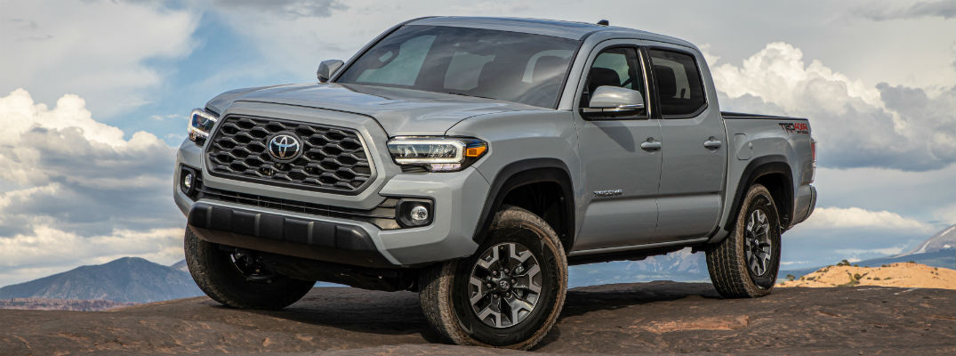 Grey 2020 Toyota Tacoma Off-Road