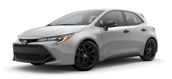 2020 Toyota Corolla Hatchback in Classic Silver Metallic