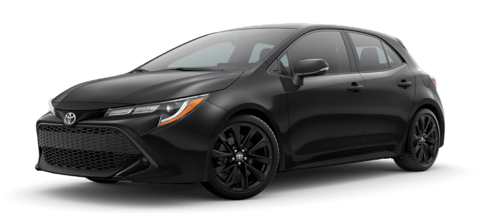 2020 Toyota Corolla Hatchback in Midnight Black Metallic