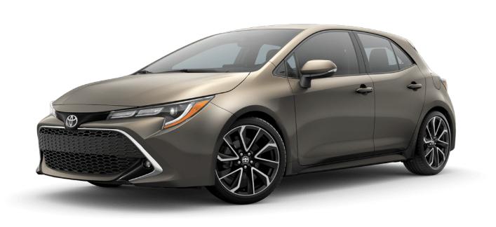 2020 Toyota Corolla Hatchback in Oxide Bronze