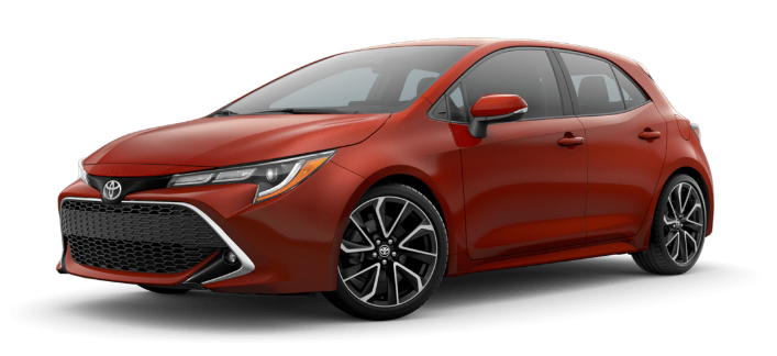 2020 Toyota Corolla Hatchback in Smoked Paprika Metallic