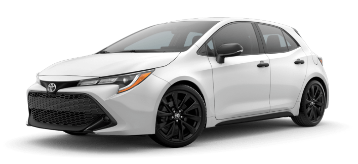 2020 Toyota Corolla Hatchback in Super White