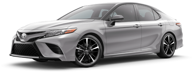 2020 Toyota Camry in Celestial Silver Metallic/Midnight Black Metallic Roof