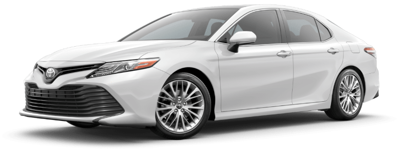 2020 Toyota Camry in Super White