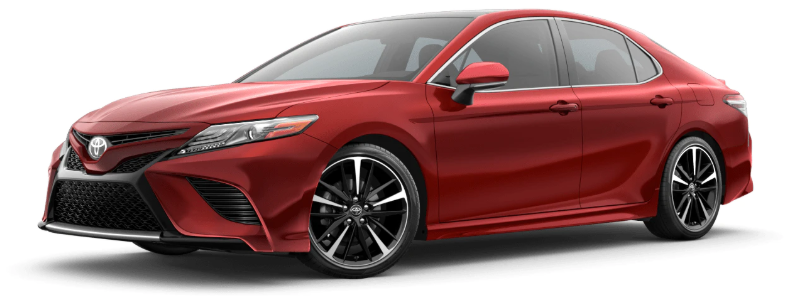 2020 Toyota Camry in Supersonic Red