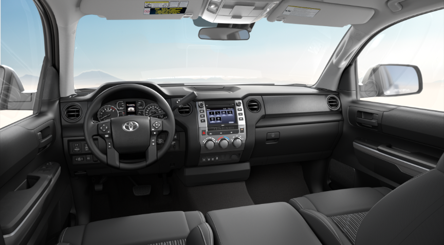 Graphite Fabric in 2020 Toyota Tundra