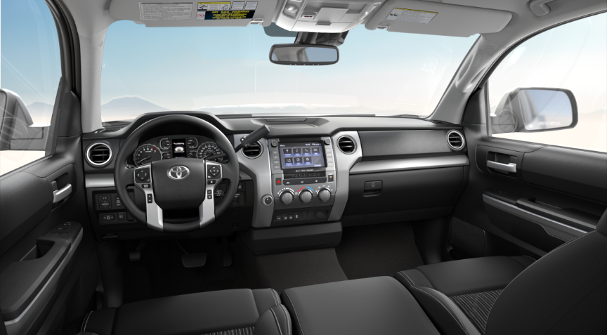 Black Fabric in 2020 Toyota Tundra