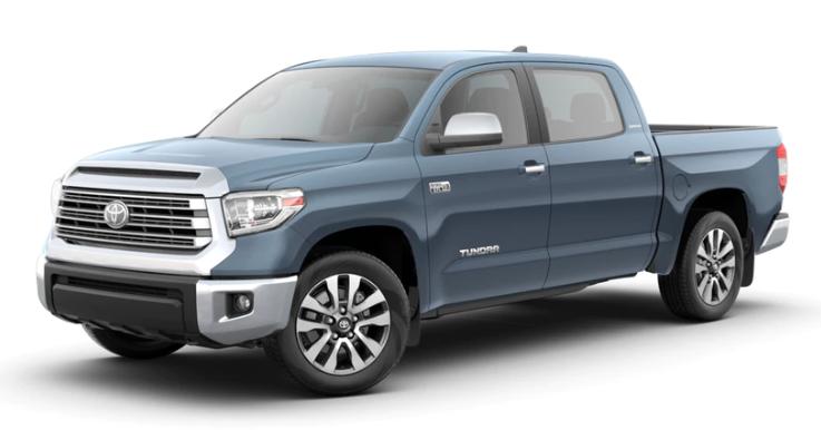 2020 Toyota Tundra in Cavalry Blue