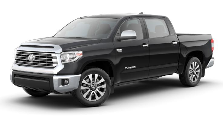 2020 Toyota Tundra in Midnight Black Metallic
