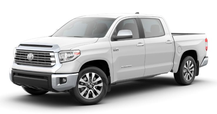 2020 Toyota Tundra in Super White
