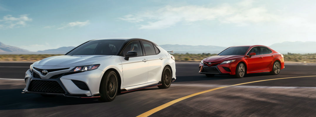 What Design Features Does the 2020 Toyota Camry TRD Have?