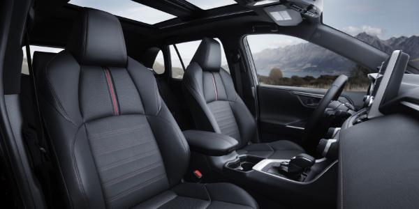 Seating in 2021 Toyota RAV4 Prime