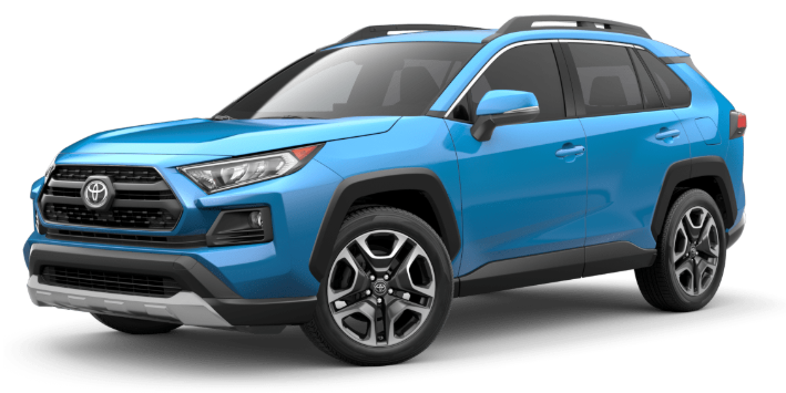 2020 Toyota RAV4 in Blue Flame