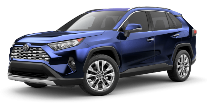 2020 Toyota RAV4 in Blueprint