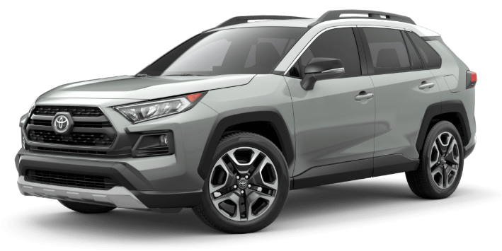 2020 Toyota RAV4 in Lunar Rock/Ice Edge Roof