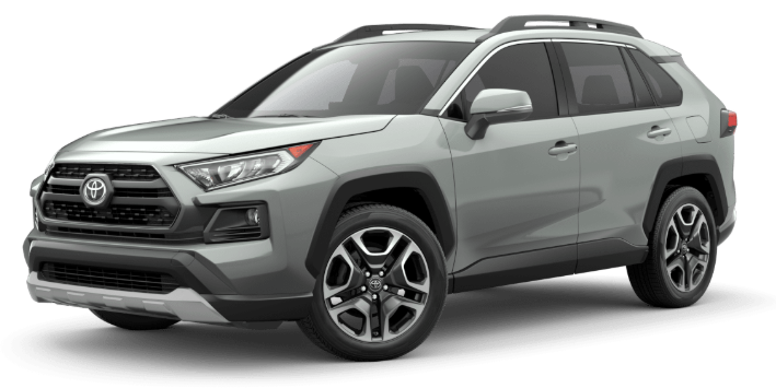 2020 Toyota RAV4 in Lunar Rock