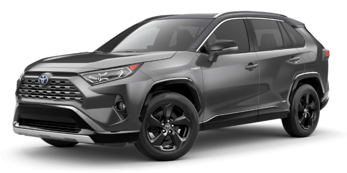 2020 Toyota RAV4 in Magnetic Gray Metallic/Midnight Black Metallic Roof