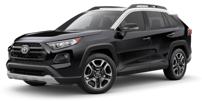 2020 Toyota RAV4 in Midnight Black Metallic/Ice Edge Roof
