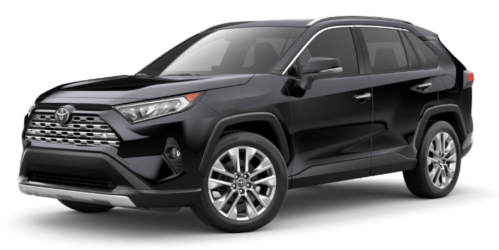 2020 Toyota RAV4 in Midnight Black Metallic