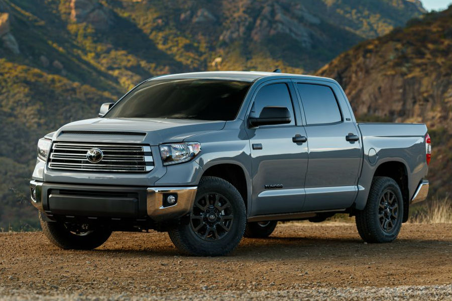 A photo of the 2021 Toyota Tundra Trail Special Edition.